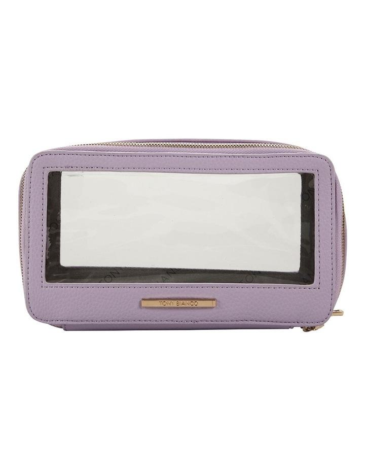 Double Zip Around Cosmetic Bag image 1