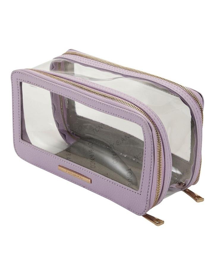 Double Zip Around Cosmetic Bag image 2