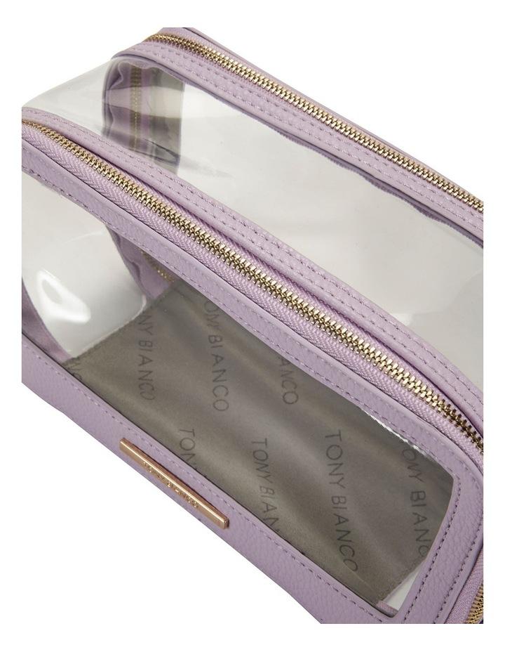 Double Zip Around Cosmetic Bag image 4