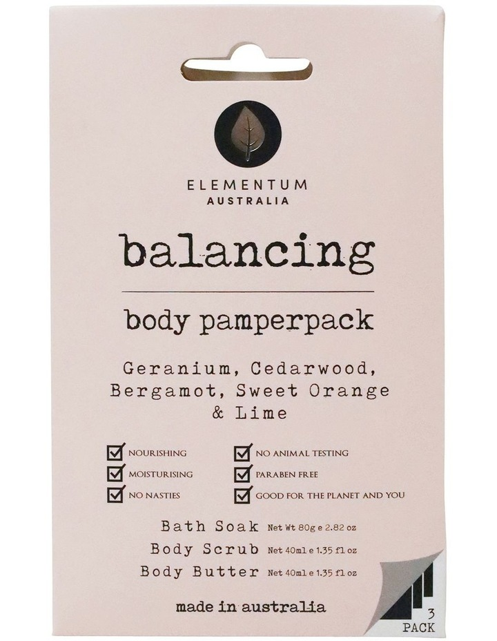 Elementum Australia Body Pamper Pack - Balancing image 1