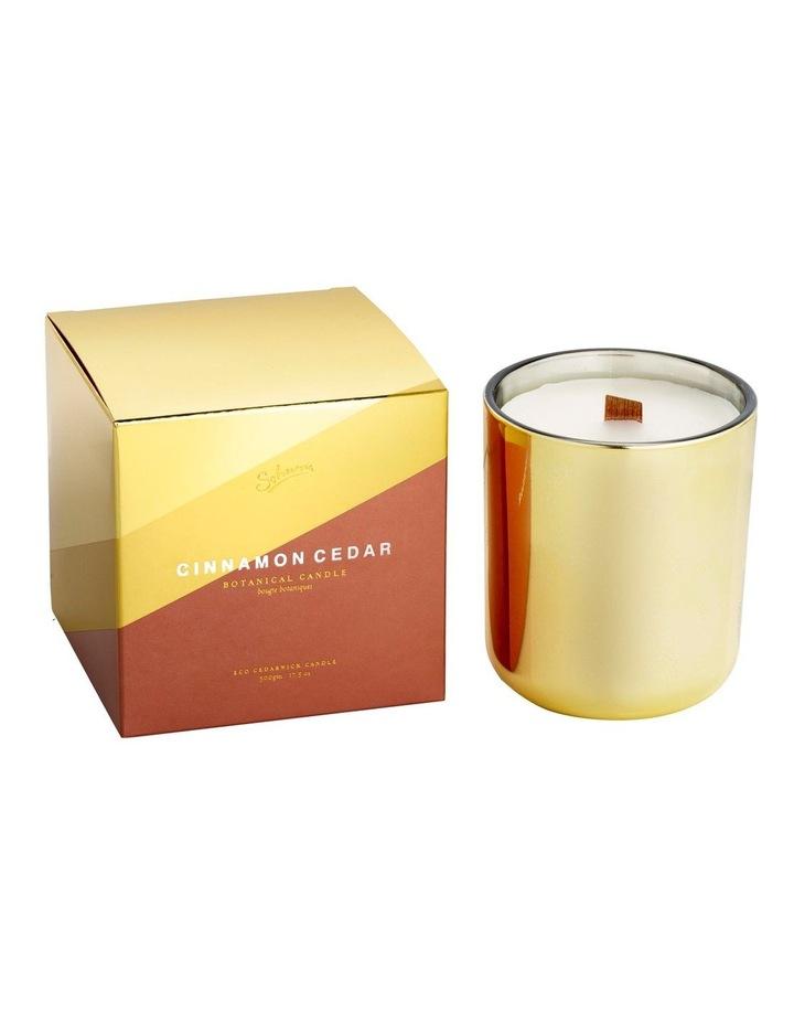 Cinnamon Cedar Eco Cedarwick Candle image 1