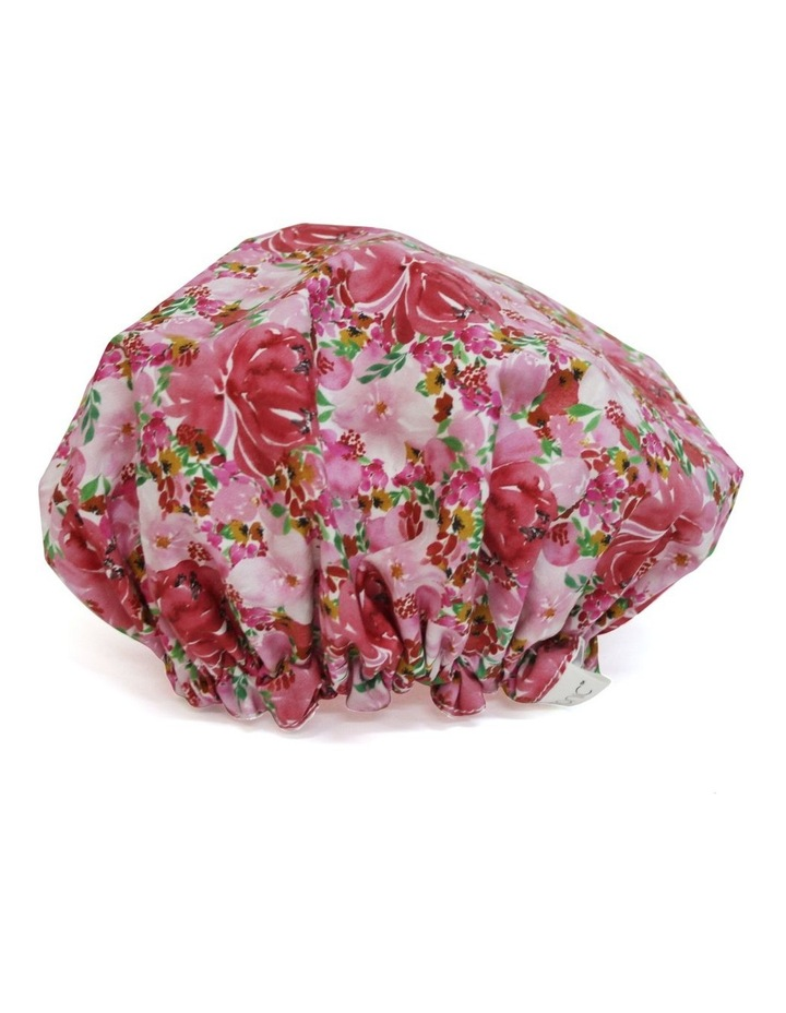 Shower Cap Flourish Pinks image 2
