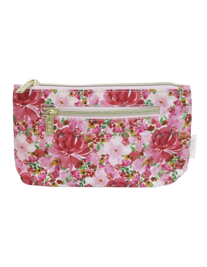 Small Cosmetic Bag Flourish Pinks image 1