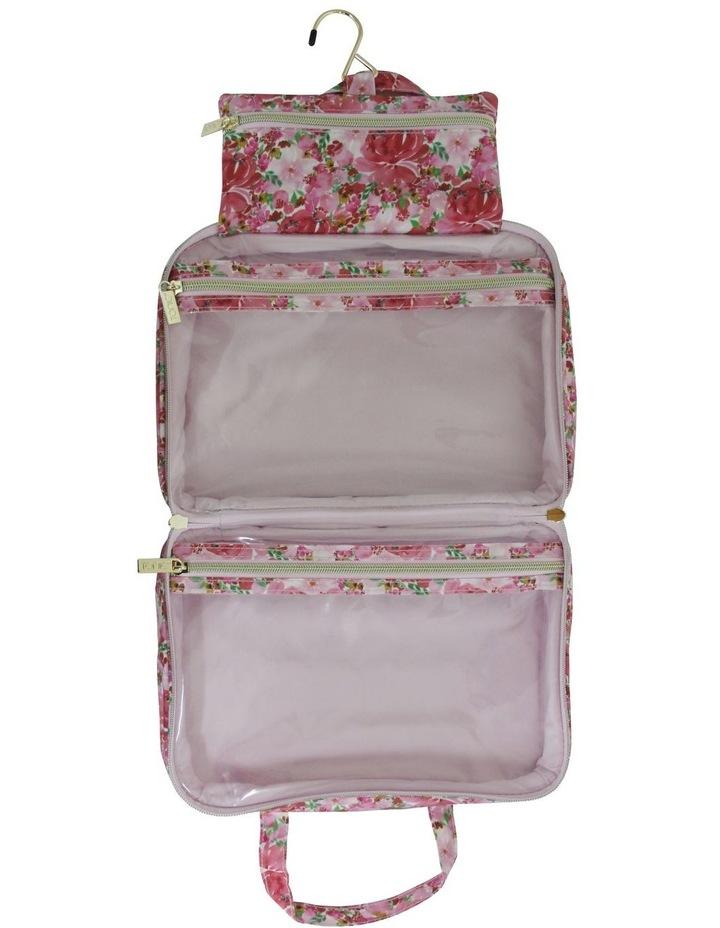 Hanging Cosmetic Bag Flourish Pinks image 2