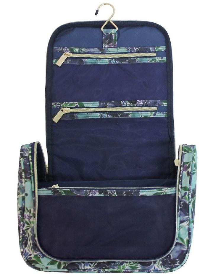 Essential Hanging Cosmetic Bag Flourish Blues image 2