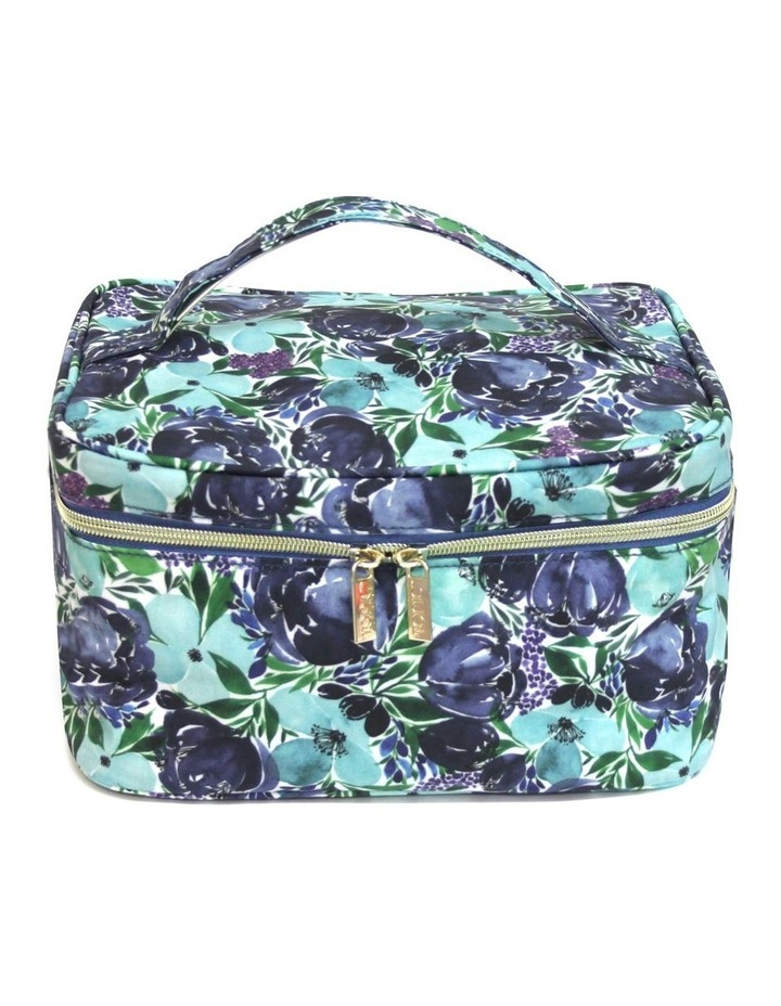 Makeup Case Flourish Blues image 1