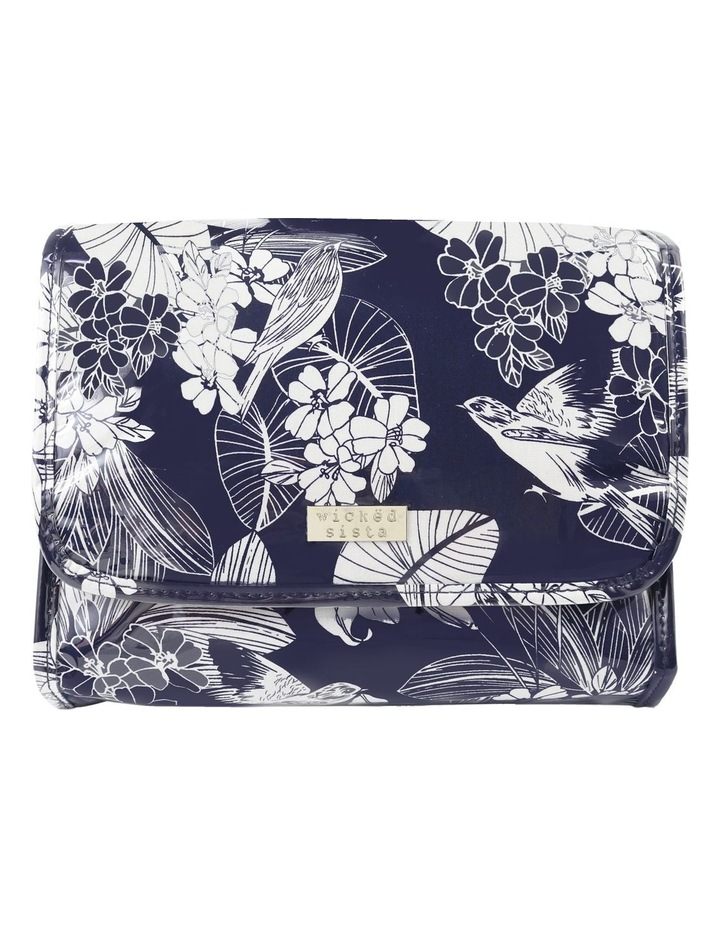 Gentle Floral Fold Out Bag With Hook image 1