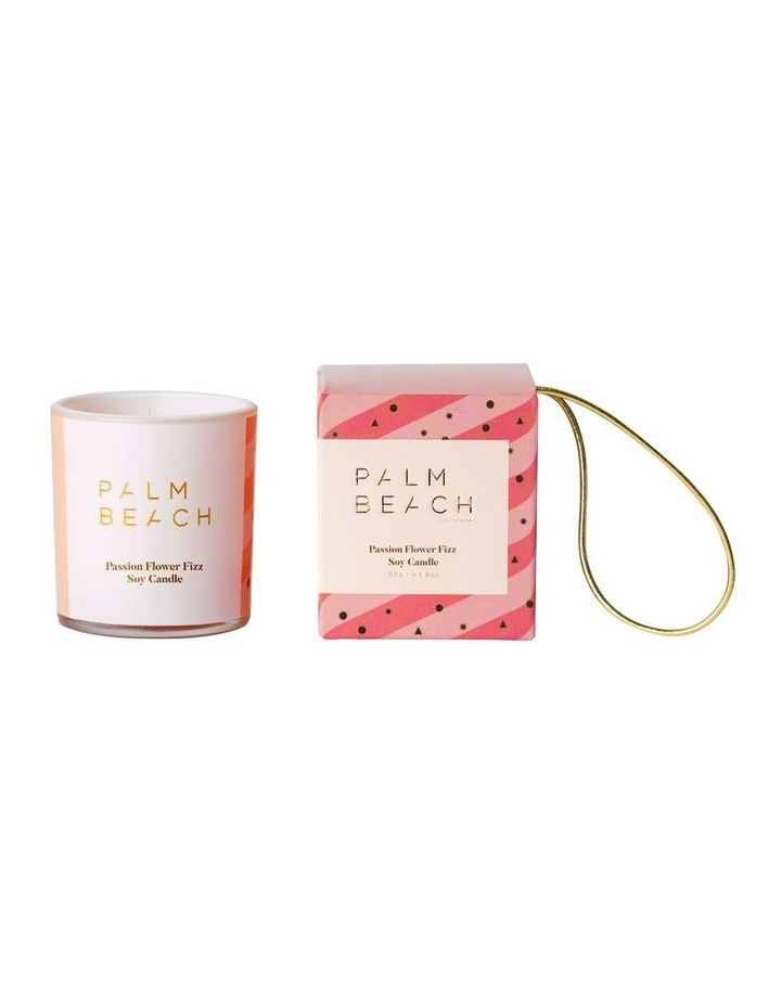 Hanging Bauble Extra Mini Candle - Passion Flower Fizz 50g image 1