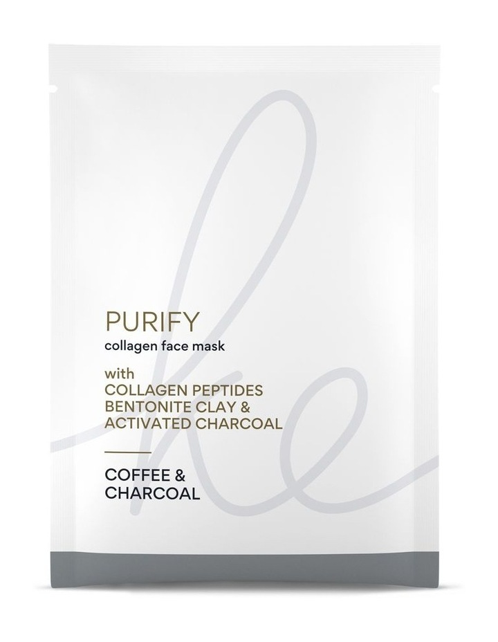 Collagen Face Mask Coffee & Charcoal Multipack (8) 160g image 2