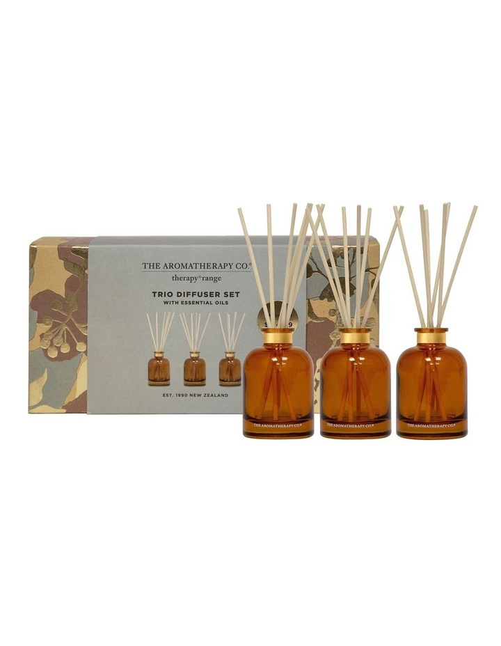 Therapy Trio Diffuser Set 3x 50ml - Uplift, Relax, Strength image 1