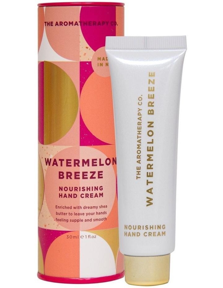 Festive Favour Hand Cream 30ml - Watermelon Breeze image 1