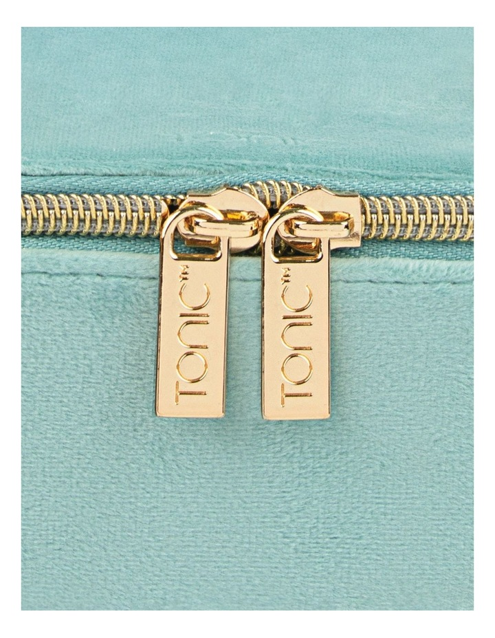 Luxe Velvet Jewellery Cube Seafoam image 2