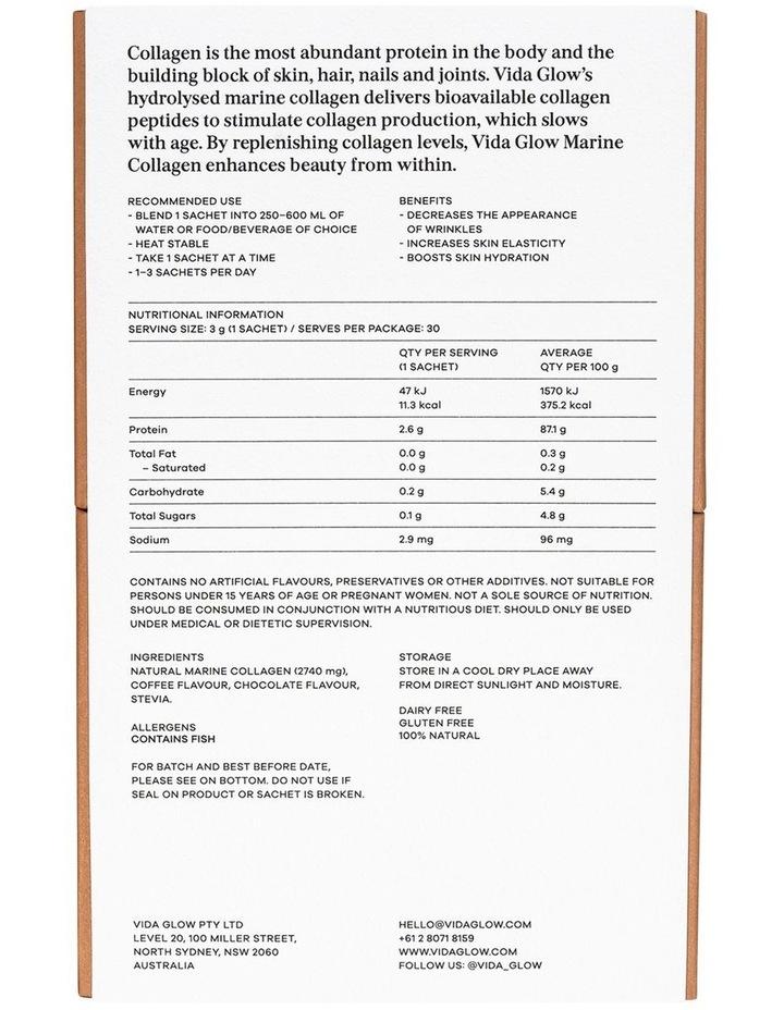 Natural Marine Collagen - Mocha image 2