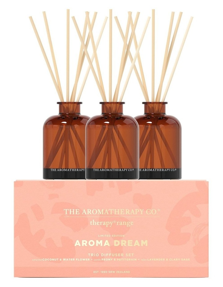 Therapy Trio Diffuser Set - Unwind, Relax, Soothe image 1