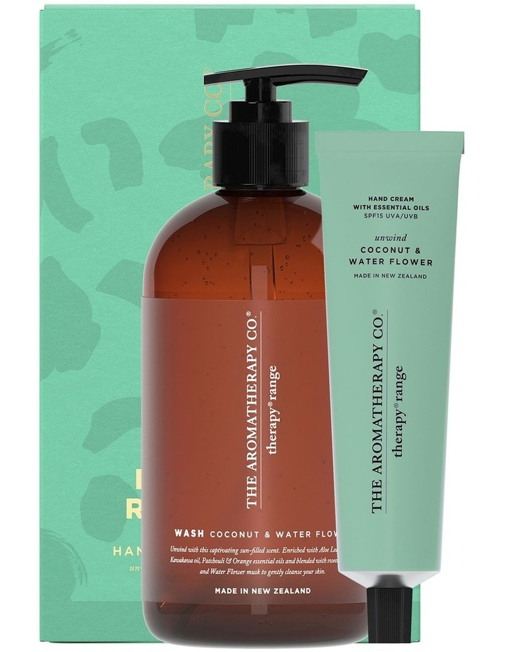 Therapy Wash & Hand Cream Set - Unwind image 1