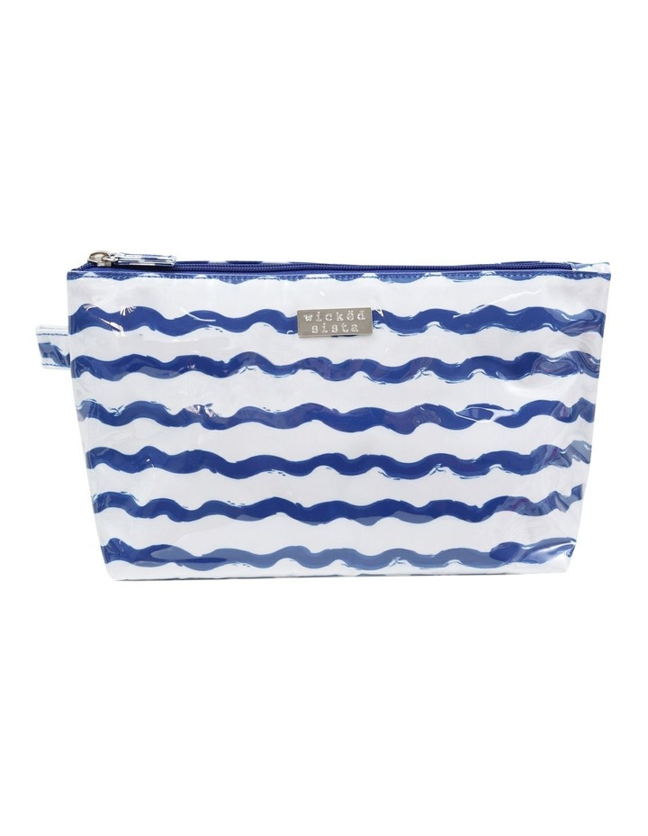 Wavy Stripe Large Luxe Cos Bag image 1