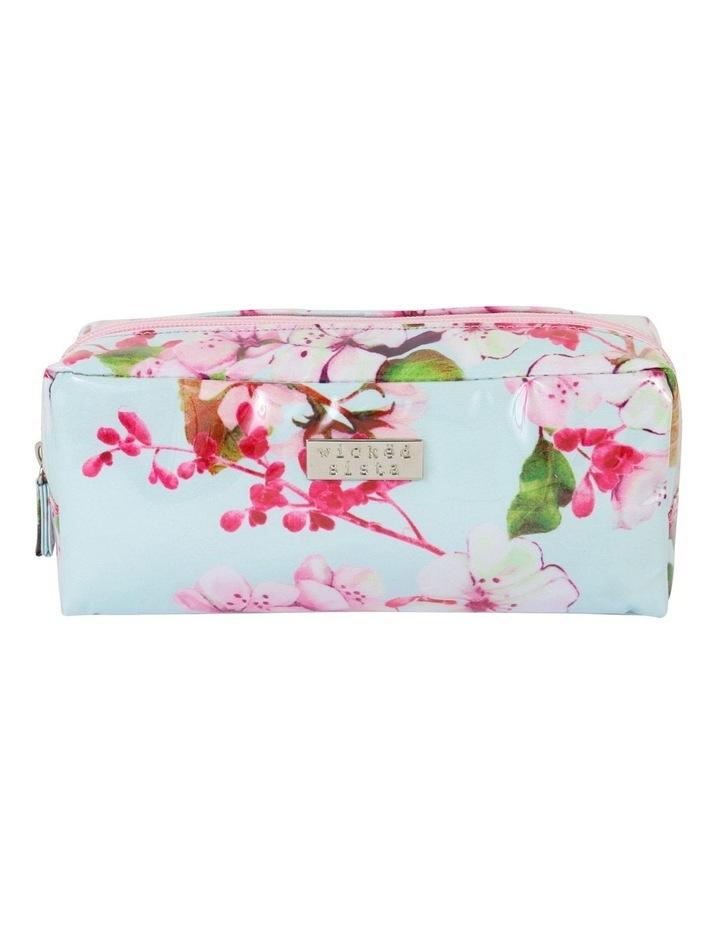 Summer Floral Rectangular Cosmetic Bag image 1