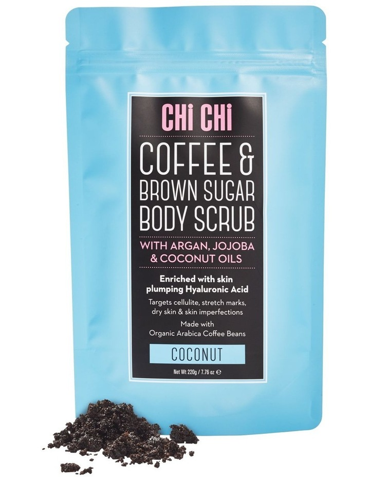 Coffee & Brown Sugar Scrub - Coconut image 1