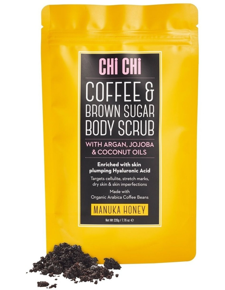 Coffee & Brown Sugar Scrub - Manuka Honey image 1