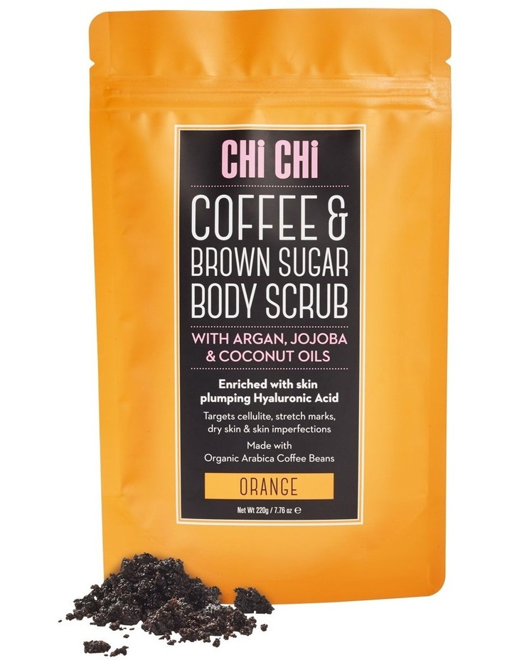 Coffee & Brown Sugar Scrub - Orange image 1