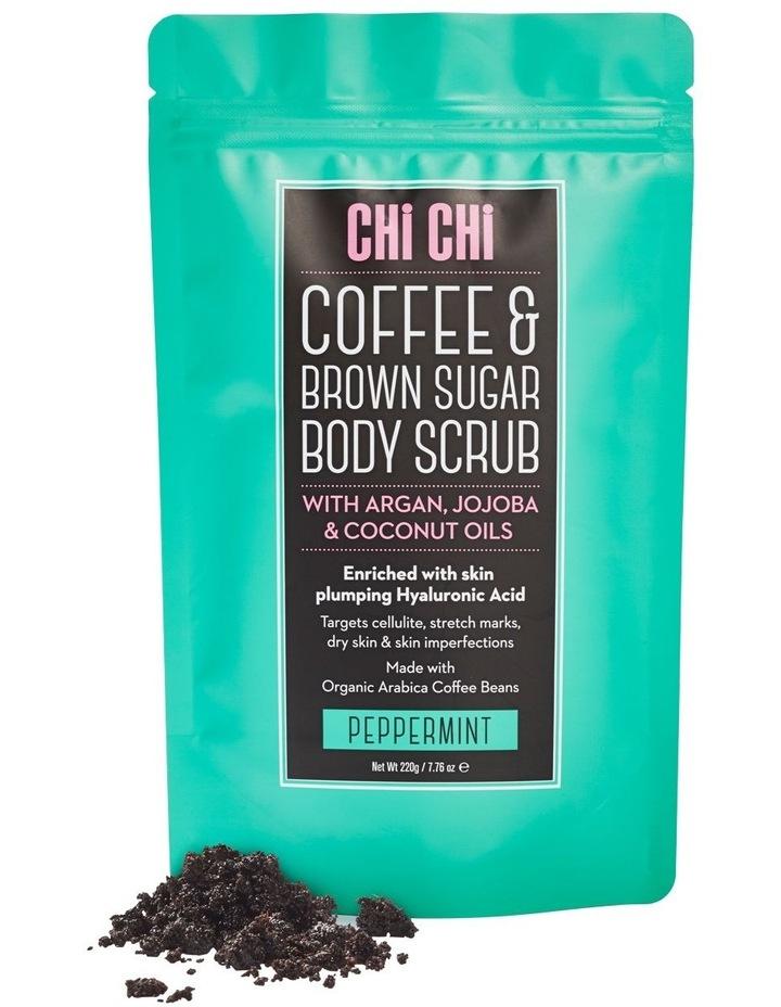 Coffee & Brown Sugar Scrub - Peppermint image 1