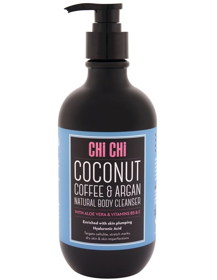 Coffee, Argan & HA Body Wash - Coconut image 1
