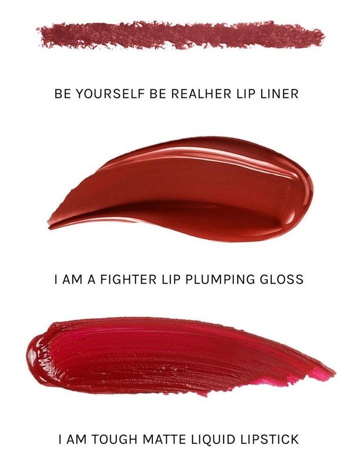 I Am Fabulous Deep Red Lip Kit image 3