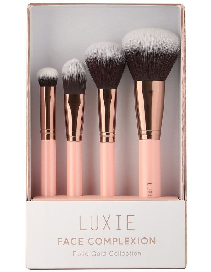 Face Complexion Brush Set Rose Gold image 2