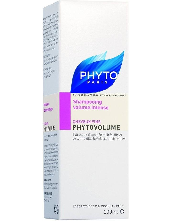 PhytoVolume Shampoo 200ml Bottle image 2