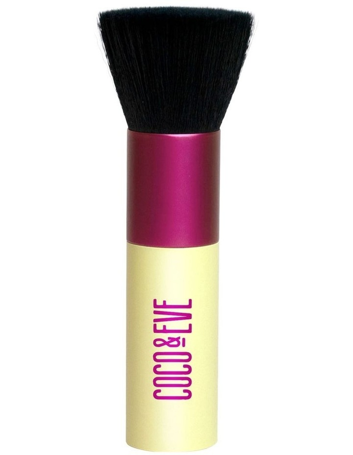 Sunny Honey - Deluxe Vegan Kabuki Brush image 1