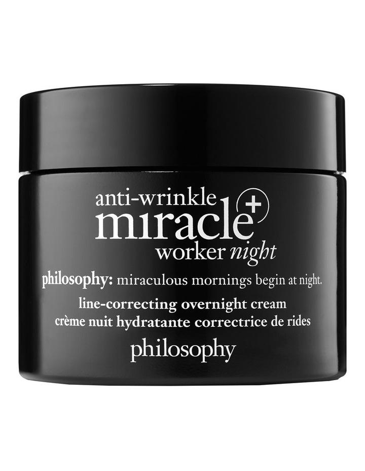 Anti-Wrinkle Miracle Worker   Line Correcting Overnight Moisturiser image 1