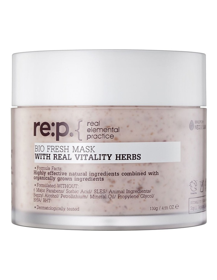 Fresh Mask with Real Vitality Herb 130g image 1