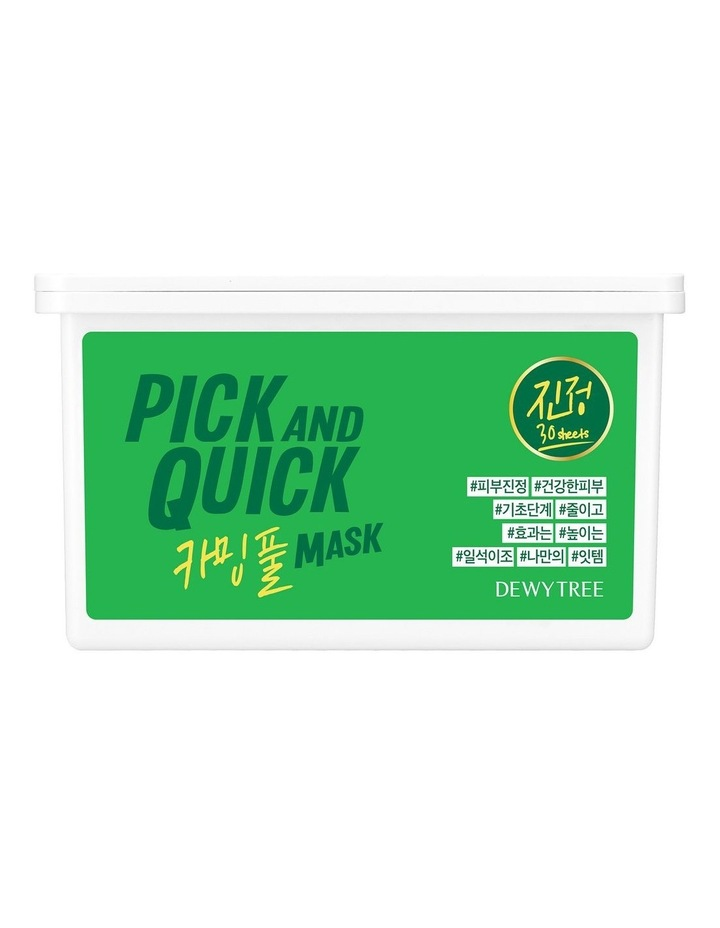 Pick And Quick Calming Full Mask- 30 Sheets image 2