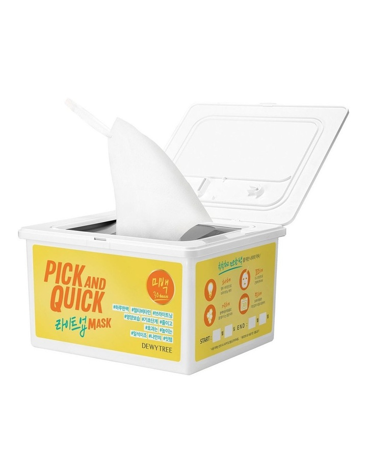 Pick And Quick Light Up Mask- 30 Sheets image 1