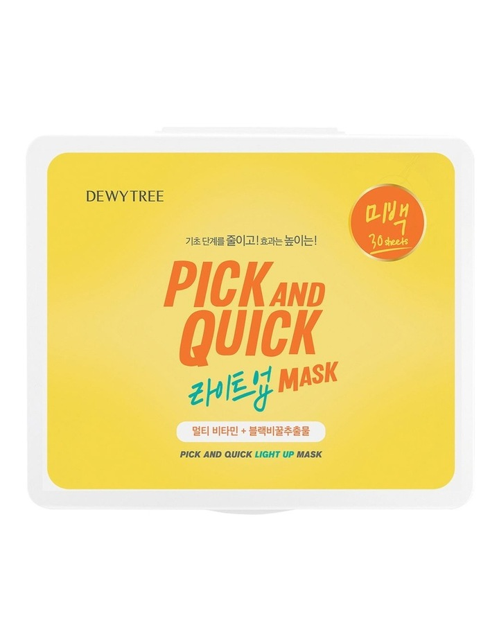Pick And Quick Light Up Mask- 30 Sheets image 3