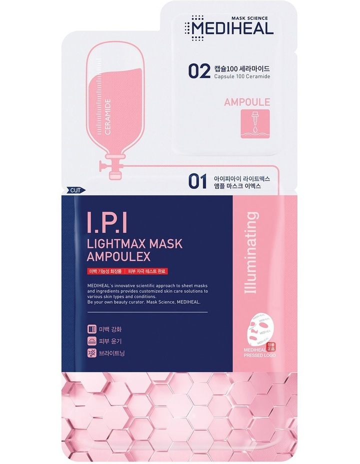 I.P.I Lightmax Mask Ampoulex- 2 Step Mask image 1