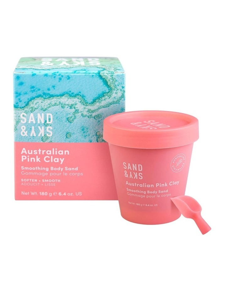 Australian Pink Clay - Smoothing Body Sand image 1