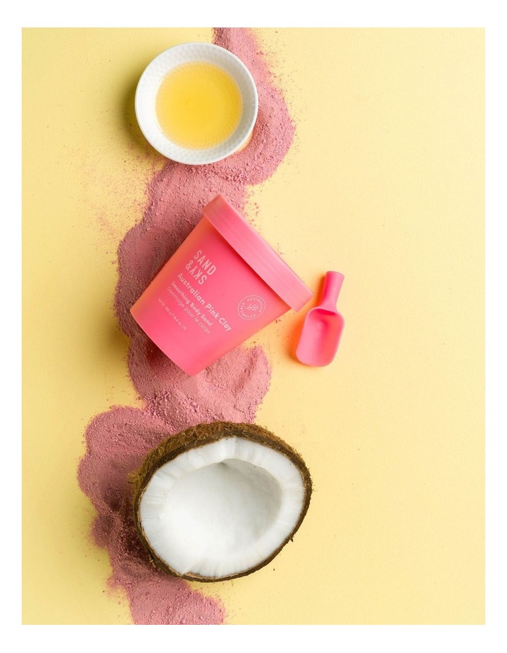 Australian Pink Clay - Smoothing Body Sand image 5
