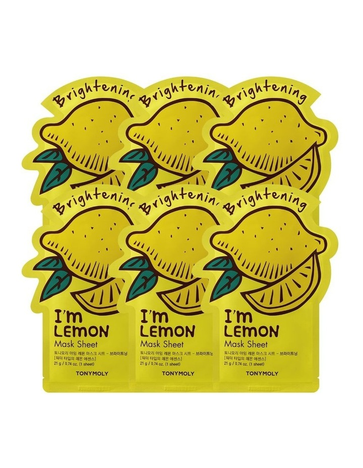 I'm Lemon Mask Set 5+1 Free image 1