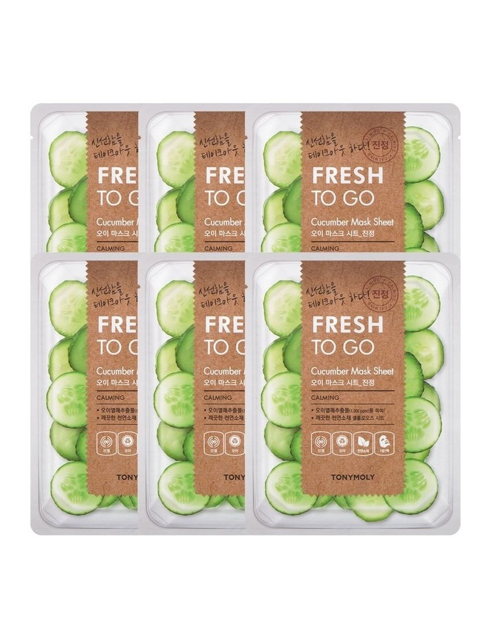 Fresh To Go Cucumber Mask Set 5+1 Free image 1