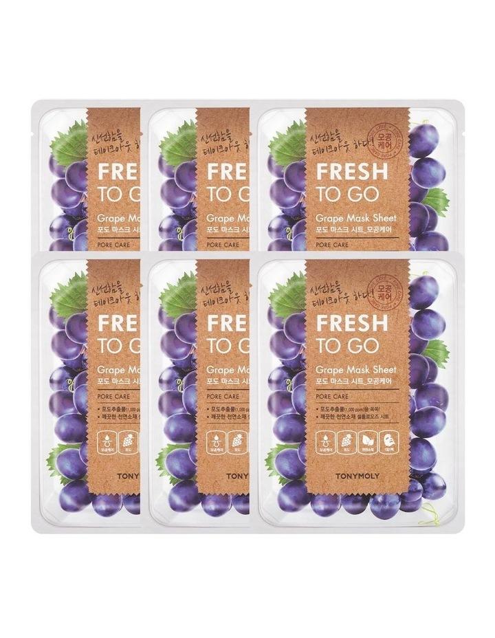 Fresh To Go Grape Mask Set 5+1 Free image 1