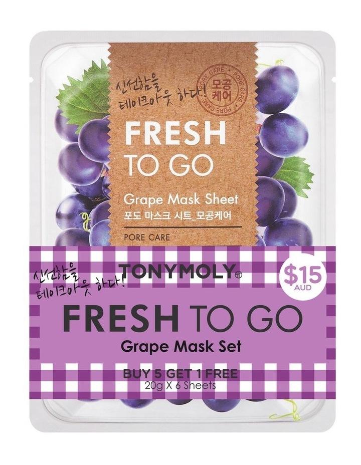 Fresh To Go Grape Mask Set 5+1 Free image 2