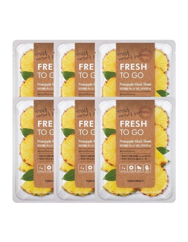 Fresh To Go Pineapple Mask Set 5+1 Free image 1