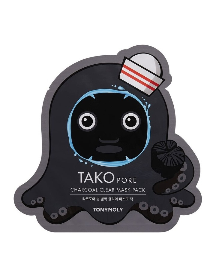Takopore Charcoal Clear Mask Pack image 1
