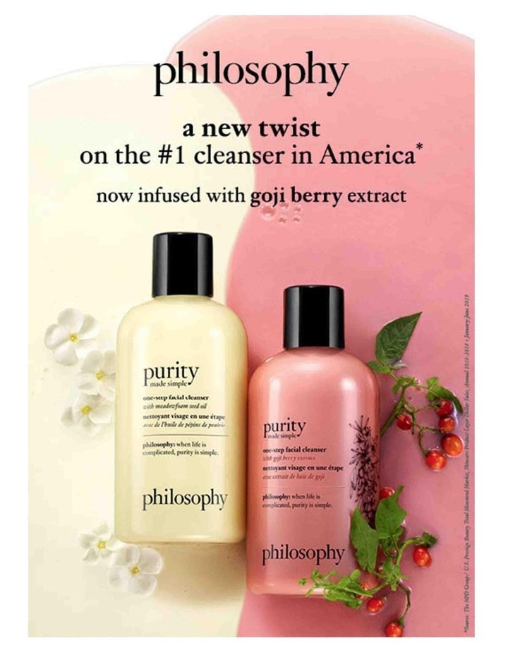 Purity Made Simple One-Step Facial Cleanser With Goji Berry Extract image 2