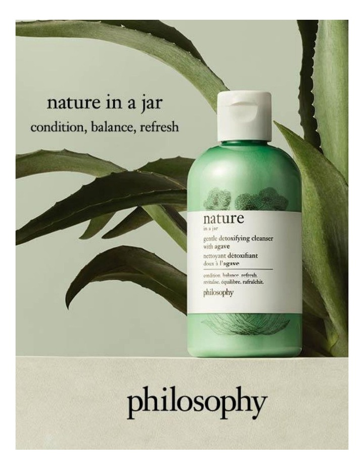Nature In A Jar Gentle Detoxifying Cleanser With Agave 240ml image 3