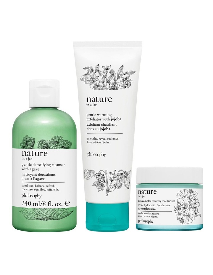 Nature In A Jar Gentle Detoxifying Cleanser With Agave 240ml image 4