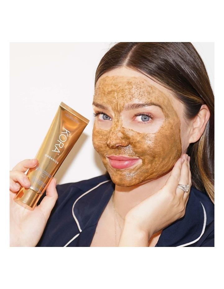 Turmeric Brightening & Exfoliating Mask, 2-IN-1 image 3