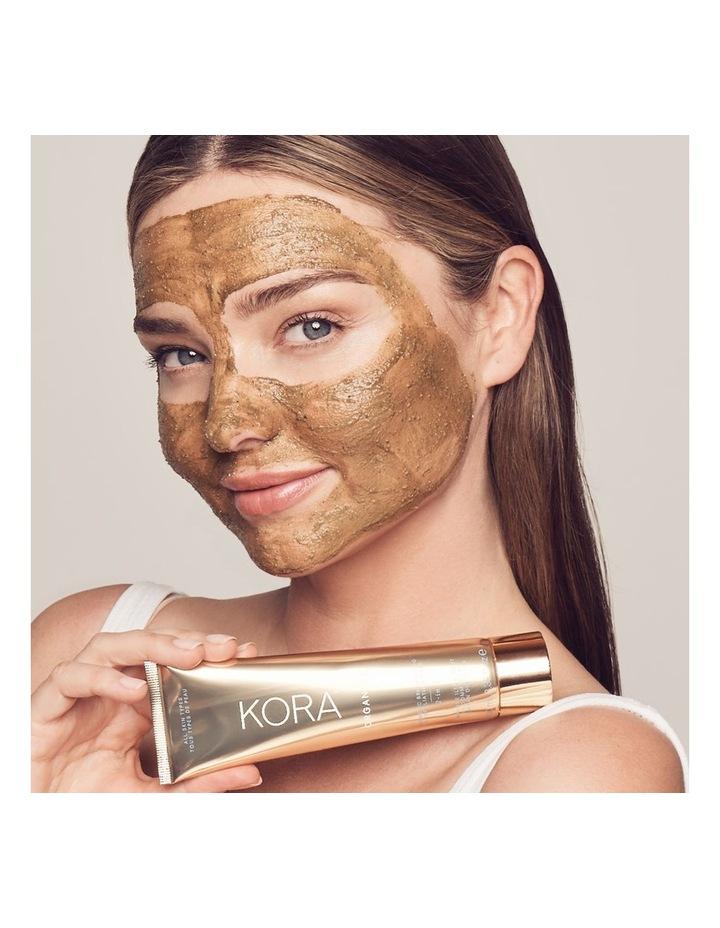 Turmeric Brightening & Exfoliating Mask, 2-IN-1 image 4