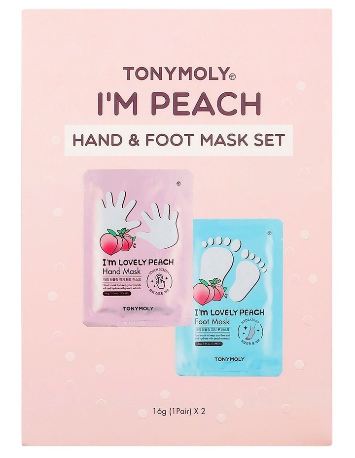 I'm Peach Hand & Foot Mask Set image 1